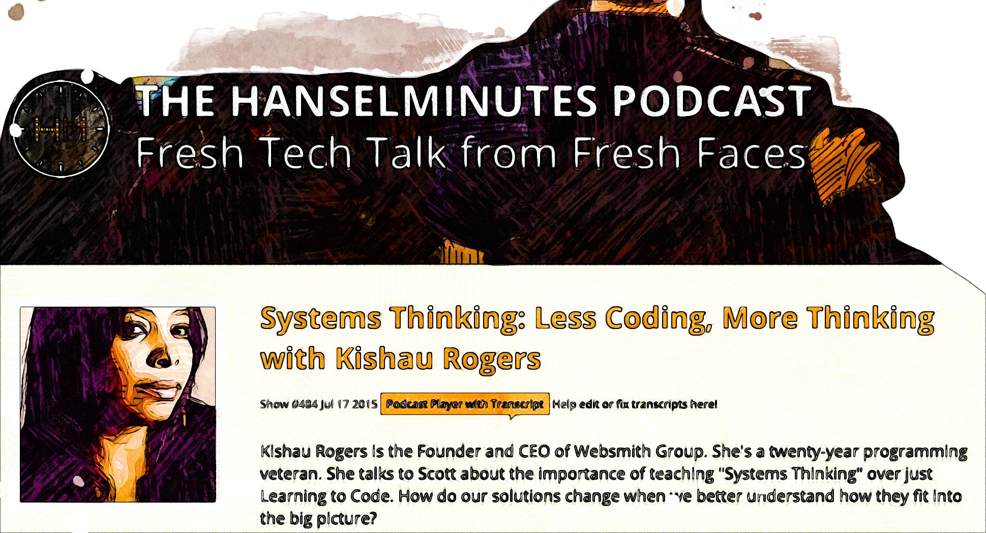 Hanselminutes Podcast Episode description