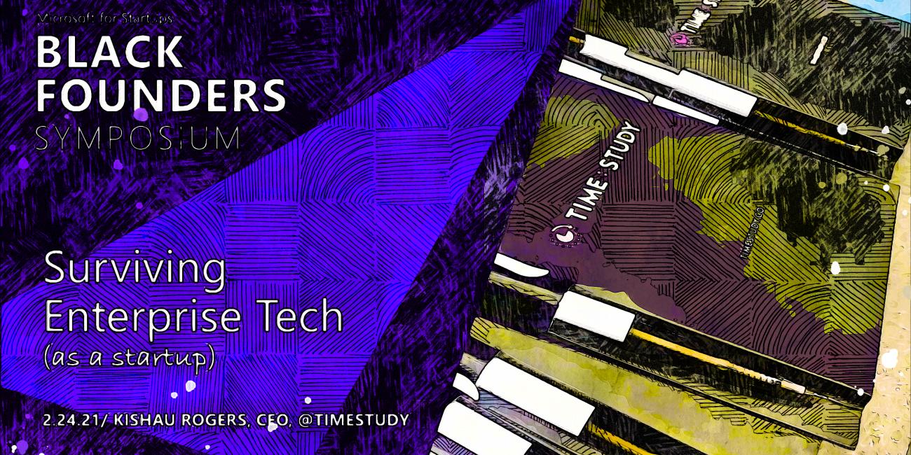 Microsoft for Startups Black Founders Symposium closing keynote presentation cover