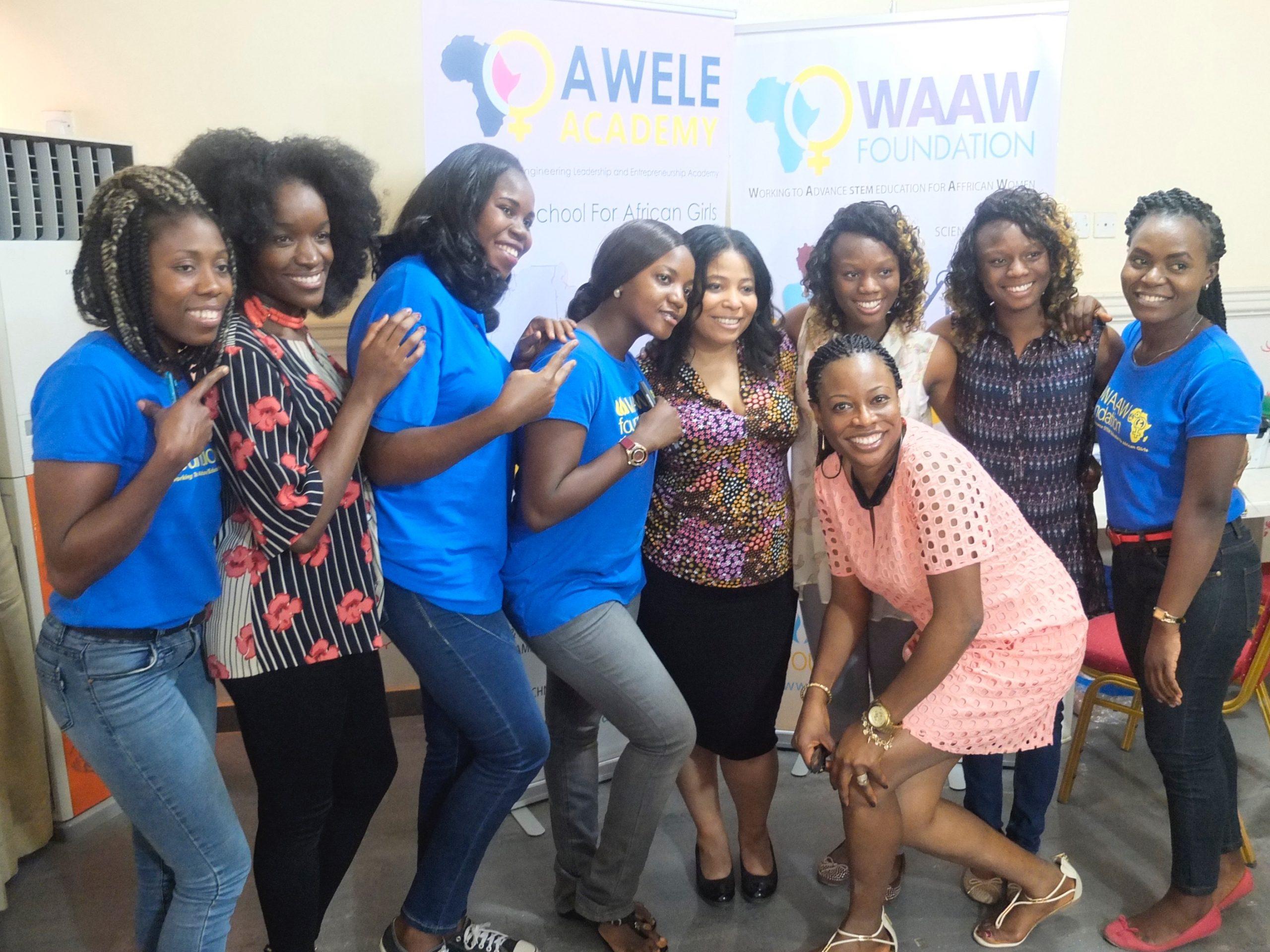 SheHacks Africa Cohort 1 in Abuja, Nigeria